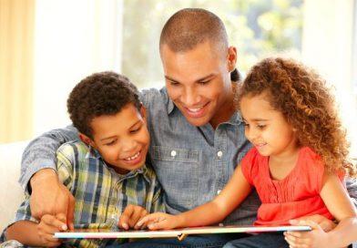 Pai é herói, exemplo de vida e  referência para os seus filhos.