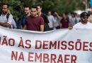 Centrais Sindicais querem anulação das demissões na Embraer