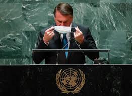 Único presidente antivacina, Bolsonaro.é criticado na imprensa global